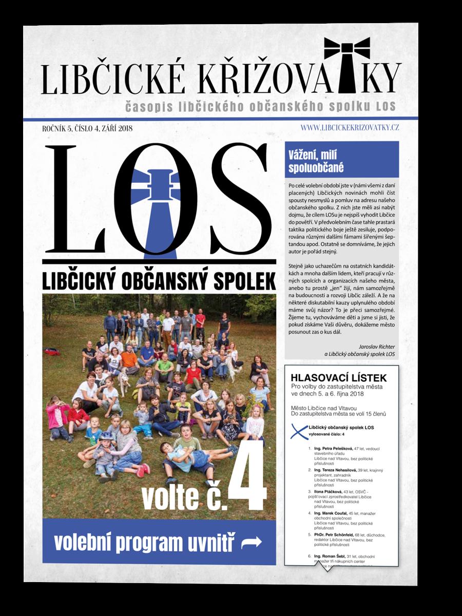 Libčické křižovatky č.4/2018
