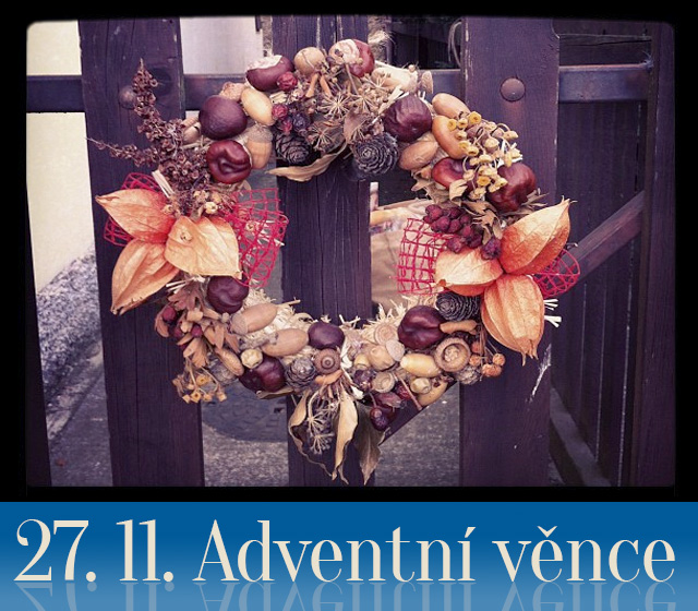 Pozvanka: Adventní věnce