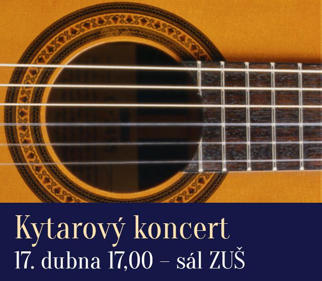 Kytarový koncert ZUŠ
