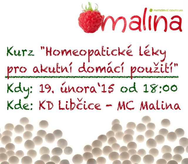 Kurz - Homeopatické léky