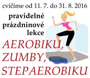 Prázdninové lekce AEROBIKU, ZUMBY, STEPAEROBIKU @ Sokolovna Libčice | Libčice nad Vltavou | Středočeský kraj | Česká republika