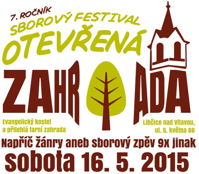 "7. ročník festivalu sborového zpěvu ""Otevřená zahrada"" 2015"