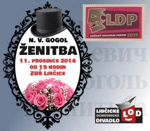 """LOĎ:  """"Ženitba"""" @ sál ZUŠ Libčice   Libčice nad Vltavou   Středočeský kraj   Česká republika"""