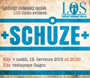 Schůze LOS: červenec 2015