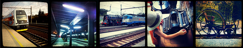 Vlaky a železnice
