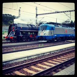 Lokomotivy v Libčicích