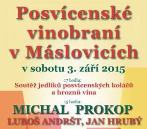 Máslovické posvícenské vinobraní @ Máslovice | Máslovice | Středočeský kraj | Česká republika