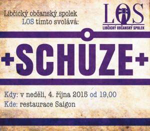 Schůze LOS - 4. 10.