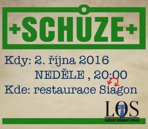 schůze LOS - 10-16