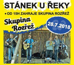Stánek u řeky - skupina Rozřež @ Stánek u řeky | Dolany | Středočeský kraj | Česká republika