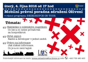 Mobilní právní poradna sdružení Oživení @ Libčice nad Vltavou   Libčice nad Vltavou   Středočeský kraj   Česká republika
