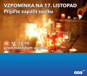 Vzpomínka na 17. listopad @ Městský úřad Libčice nad Vltavou   Libčice nad Vltavou   Středočeský kraj   Česká republika