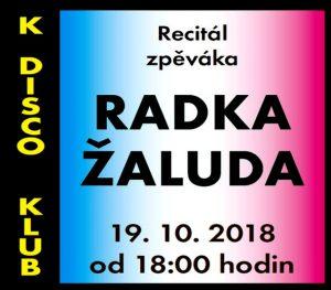 Recitál Radka Žaluda @ K-Klub