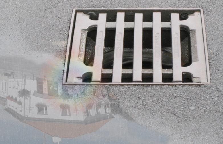 Čistá ulice - kanál