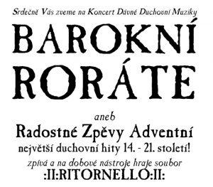 Barokní roráte @ Katolický kostel sv. Bartoloměje | Libčice nad Vltavou | Středočeský kraj | Česká republika