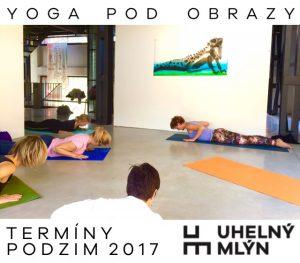Jóga pod obrazy @ galerie ARTO.TO v Uhelném mlýně | Libčice nad Vltavou | Česká republika
