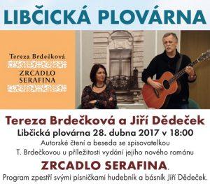 Libčická plovárna: Tereza Brdečková a Jiří Dědeček @ Libčická plovárna   Libčice nad Vltavou   Středočeský kraj   Česká republika