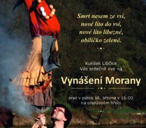 Vynášení Morany a vítání jara @ z Oranžového hřiště k Vltavě | Libčice nad Vltavou | Středočeský kraj | Česká republika