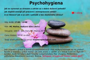 Psychohygiena @ MC Malina, KD Libčice