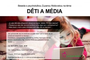 Děti a média - beseda @ MC Malina, KD Libčice