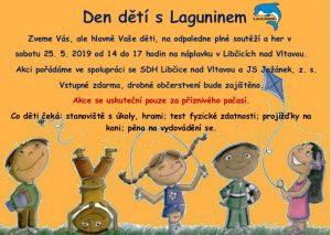 Den dětí s Laguninem @ náplavka Libčice | Libčice nad Vltavou | Středočeský kraj | Česká republika