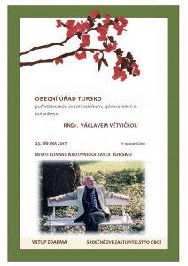 Beseda s Václavem Větvičkou @ Křížovnická bašta, Tursko