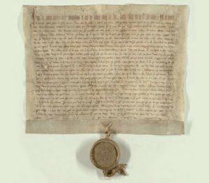 Falzum zakládací listiny Břevnovského kláštera (993/1225)