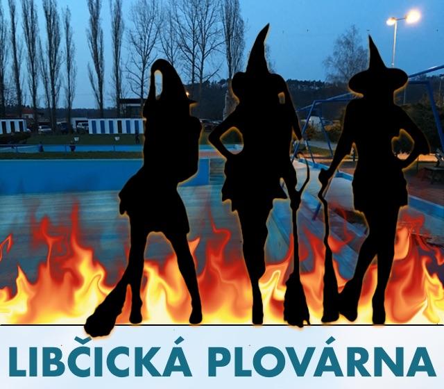 Libčická plovárna: čarodějnice