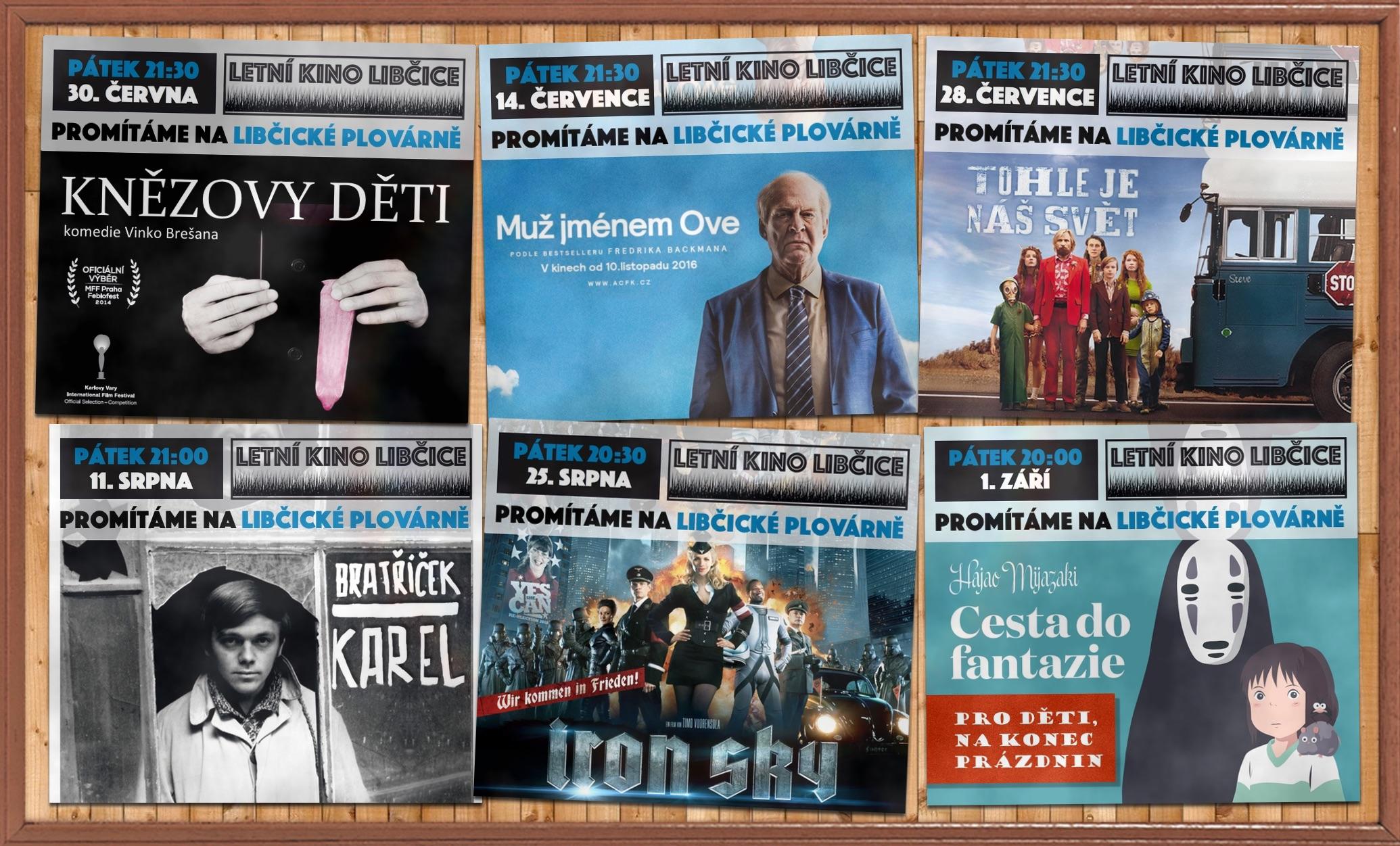 Letní kino 2017 - program