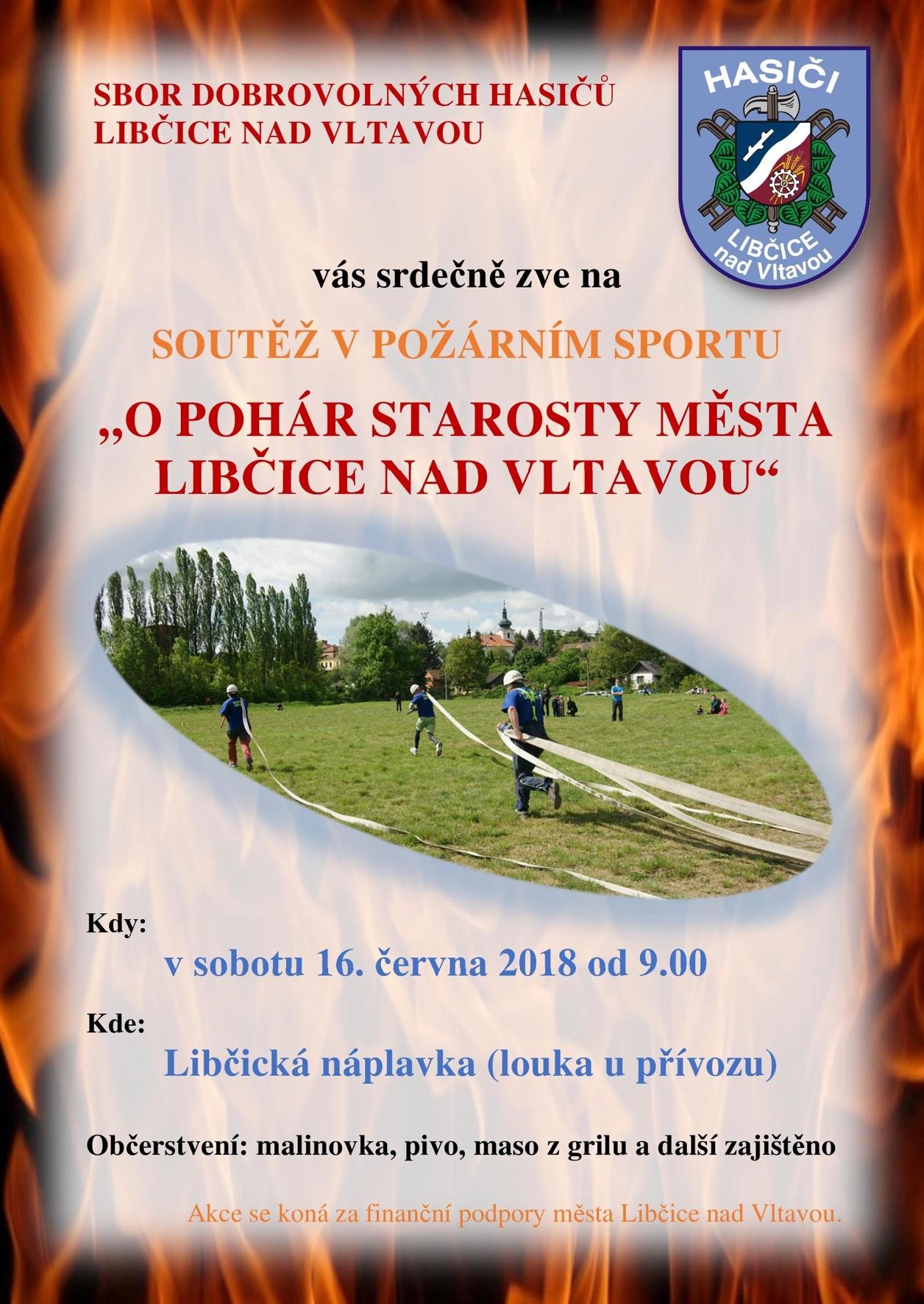 Hasiči: pohár 2018