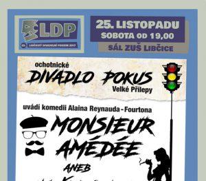 LDP 2017: MONSIEUR AMÉDÉE @ sál ZUŠ Libčice | Libčice nad Vltavou | Středočeský kraj | Česká republika