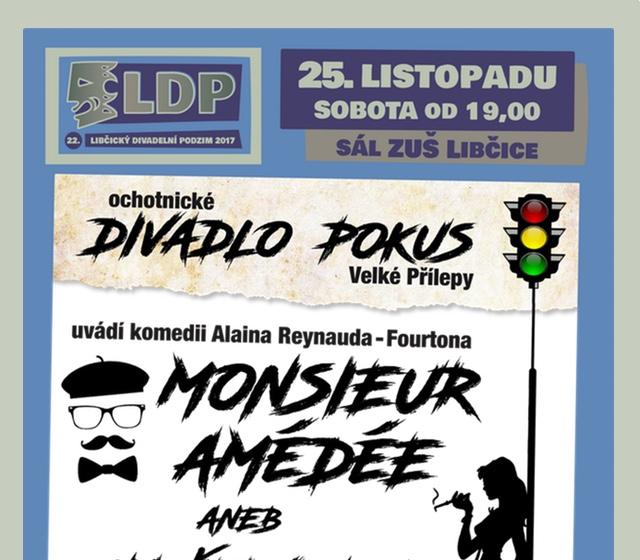 LDP17: Pokus Velké Přílepy, Amédéé