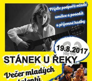Večer mladých talentů @ Stánek u řeky | Dolany | Středočeský kraj | Česká republika