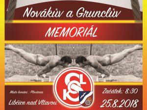 Novákův a Grunclův memoriál @ areál šplhu, plovárna Libčice | Libčice nad Vltavou | Středočeský kraj | Česká republika