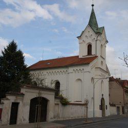 evangelický kostel Libčice