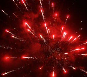 Novoroční ohňostroj v Libčicích @ Náplavka v Libčicích nad Vltavou | Libčice nad Vltavou | Středočeský kraj | Česká republika