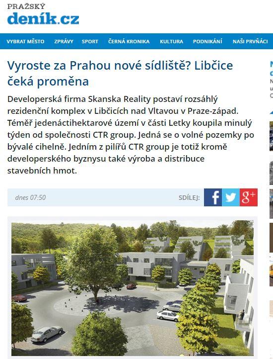 Pražský deník_Výstřižek