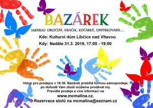 Jarní bazárek @  KD Libčice nad Vltavou | Libčice nad Vltavou | Středočeský kraj | Česká republika