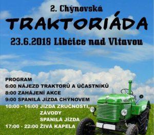 2. chýnovská traktoriáda @ Chýnov - Pod Hájem
