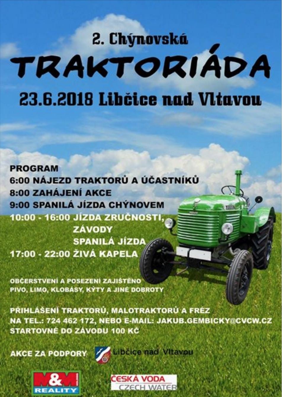 2. chýnovská traktoriáda