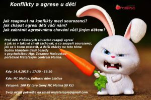 Konflikty a agrese u dětí @ Kulturní dům Libčice