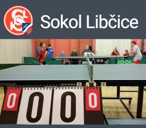 Stolní tenis: TJ Sokol Libčice A - Kanoistický klub Rakovník (Krajská soutěž 1. třídy) @ Sokolovna Libčice