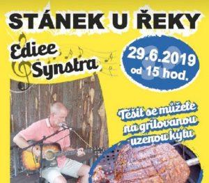 Ediee Synstra - holandský kytarista @ Stánek u řeky   Dolany   Středočeský kraj   Česká republika