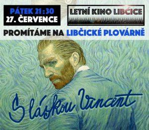 Letní kino: S láskou Vincent @ Libčická plovárna | Libčice nad Vltavou | Středočeský kraj | Česká republika