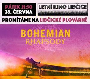 Letní kino: Bohemian Rhapsody @ Libčická plovárna | Libčice nad Vltavou | Středočeský kraj | Česká republika