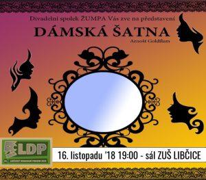 LDP 2018: Divadelní Spolek Žumpa - Dámská šatna @ sál ZUŠ Libčice | Libčice nad Vltavou | Středočeský kraj | Česká republika