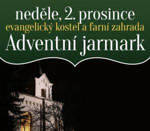 Adventní jarmark a koncert @ Evangelický kostel a farní zahrada, Libčice nad Vltavou
