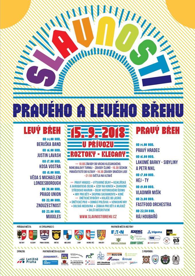Slavnosti pravého a levého břehu @ Roztoky u Prahy - Klecany