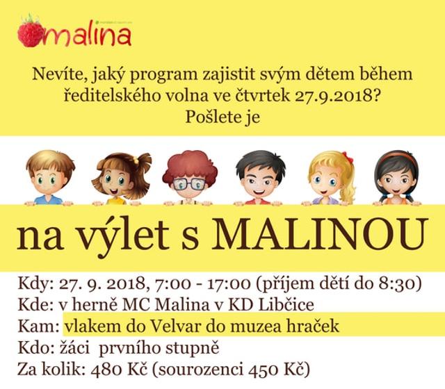Výlet s Malinou