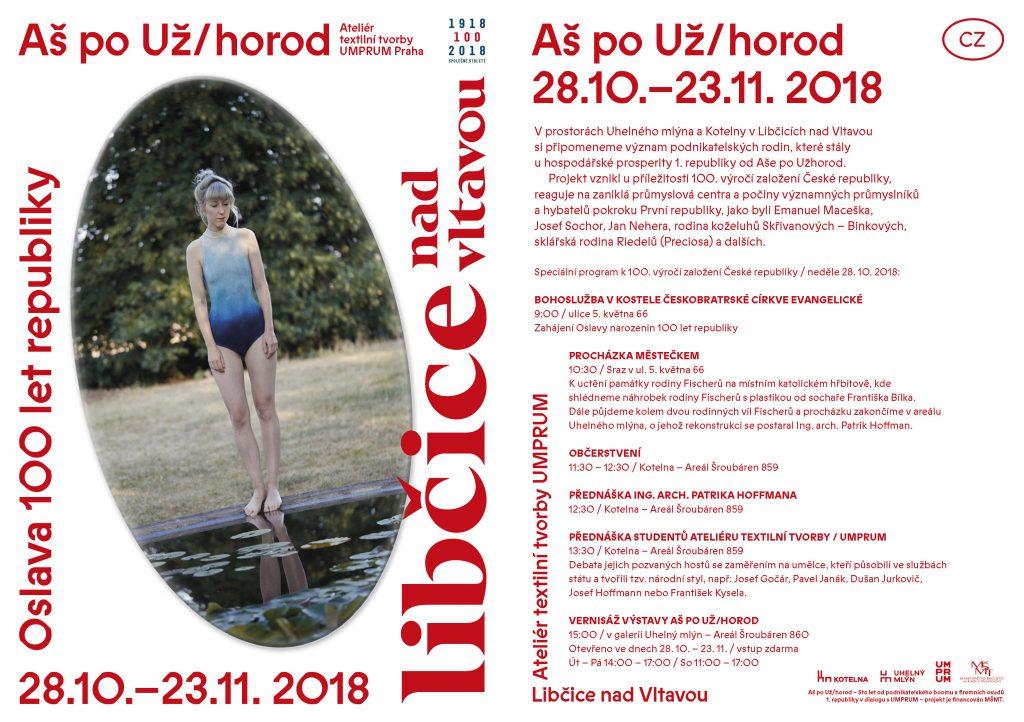 Aš po Už/horod: Výstava Ateliéru textilní tvorby UMPRUM @ Uhelný mlýn, Areál Šroubáren Libčice